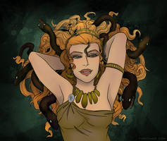 Eel Medusa by FindChaos