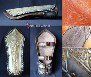 Galahad's bracelets. by Manlima