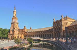 Plaza de Espana by wayleri