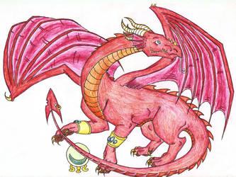COLLAB DRAGON by DragonofDarkness1992