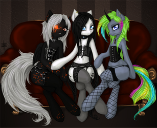 C - Morbid's Family Portrait by tt-n