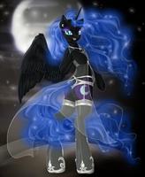 C - Nightmare Moon by tt-n