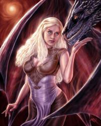 Khaleesi by ArcosArt