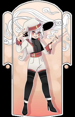 OC | Witch AU! by BurntDaisy