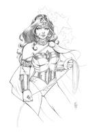 Wonder Woman (Pencils) by ColletteTurner