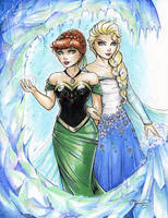 Frozen Commission by ColletteTurner