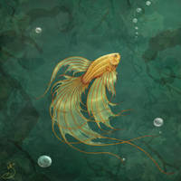 a fish a fish a fishy oo by TheJasmineDragon