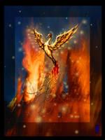 Phoenix by TheJasmineDragon