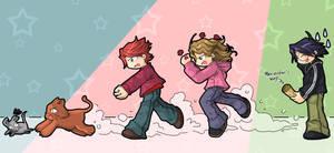 Run Crookshanks by Danime-chan