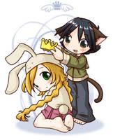 Bunny queen by Danime-chan