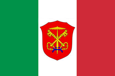 Papal Italy flag by Nekofuccboi