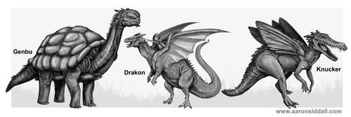 Draconic Selection 1 by MythAdvocate
