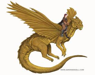 Drakon Rider by MythAdvocate