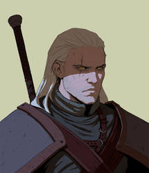 Geralt by Varguy