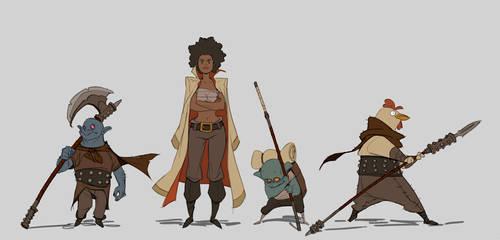 Mercenaries by Varguy