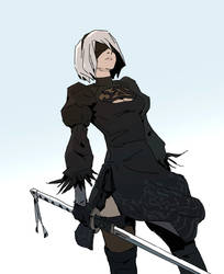 Nier Automata by Varguy