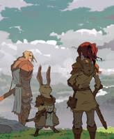 Knight's Journey by Varguy