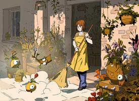 Flowershop Imposters by Varguy