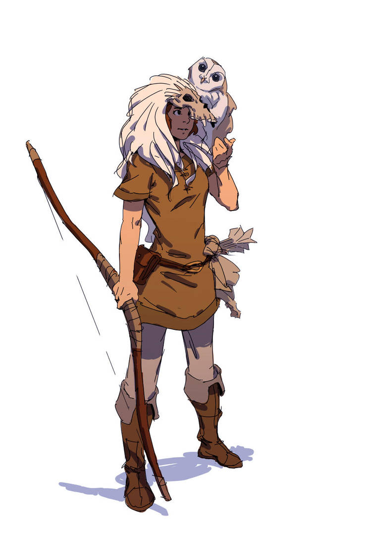 Huntress by Varguy