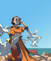 Seagulls by Varguy