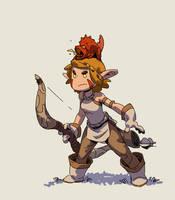 Elven Archer by Varguy