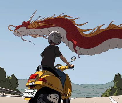 Dragon by Varguy