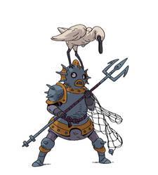 Mer-knight by Varguy