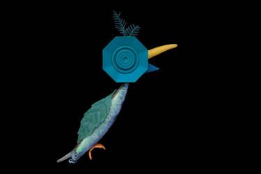Plastic Parrot by ZephyraMilie