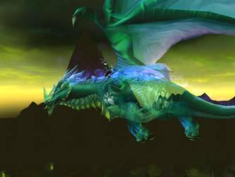 Nether Dragon by Fleischhacker