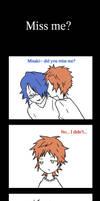 Miss me? Misaki~ by Yazu-Jud