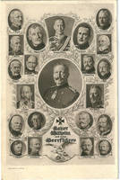 Kaiser Wilhelm and war-leaders by Arminius1871