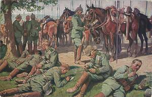 German soldier postcard Nr. 4 by Arminius1871