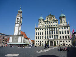 Town hall of Augsburg by Arminius1871