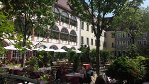 Residential beergarden by Arminius1871