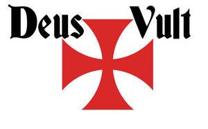 Deus Vult flag by Arminius1871