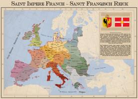 The Holy Frankish Empire by Arminius1871