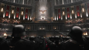 The man in the high castle -Great Hall interior- by Arminius1871
