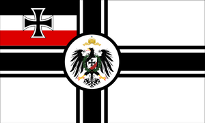 Reichskriegsflagge of Germany by Arminius1871