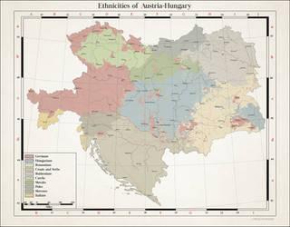 Ethnicities of Austria-Hungary by Arminius1871