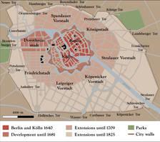 Berlin city map by Arminius1871