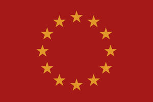 Alternate Europen Union flag by Arminius1871