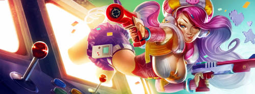 MISS FORTUNE ARCADE - LEAGUE OF LEGENDS by antoniodeluca