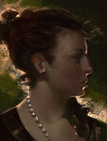 Woman Head 2 by antoniodeluca