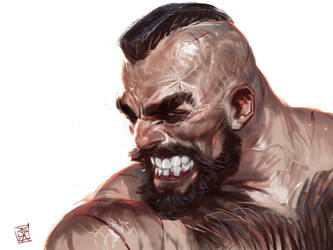 Zangief from Street Fighter by antoniodeluca