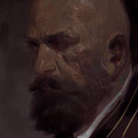 Man head study by antoniodeluca