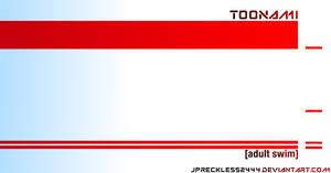 Toonami White Wallpaper Template V2 by JPReckless2444