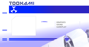 Toonami Game Review Template [BLUE] by JPReckless2444