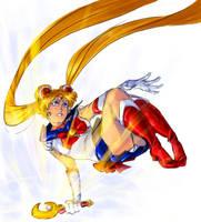 Sailor babe Moon by SplitSoulSister