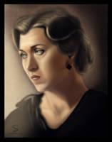 Lonely Widow by 1FROZEN1