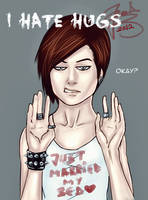 No Hugs by AnnDeeF